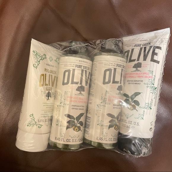 Korres Pure Greek Olive Oil - Golden Apple set